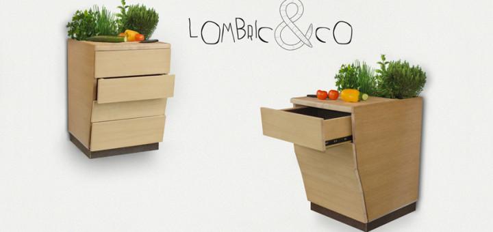 on peut composter en appartement l aide de lombrics le. Black Bedroom Furniture Sets. Home Design Ideas