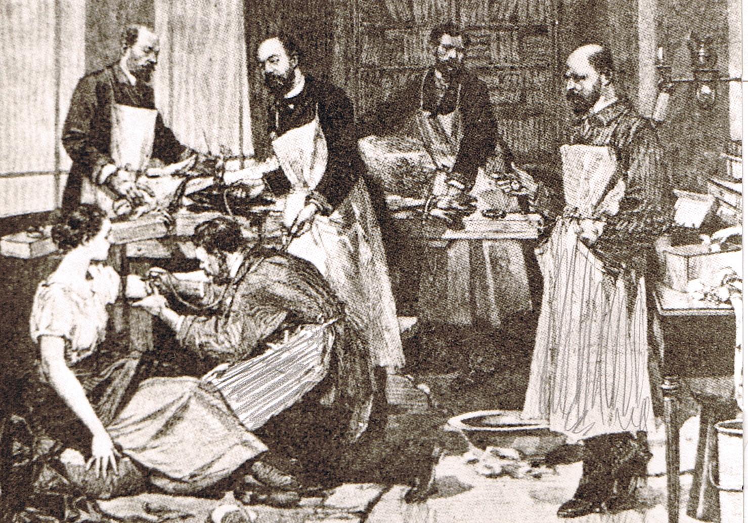 Au 19e si cle des m decins ont tent de transfuser du for Interieur 19eme siecle