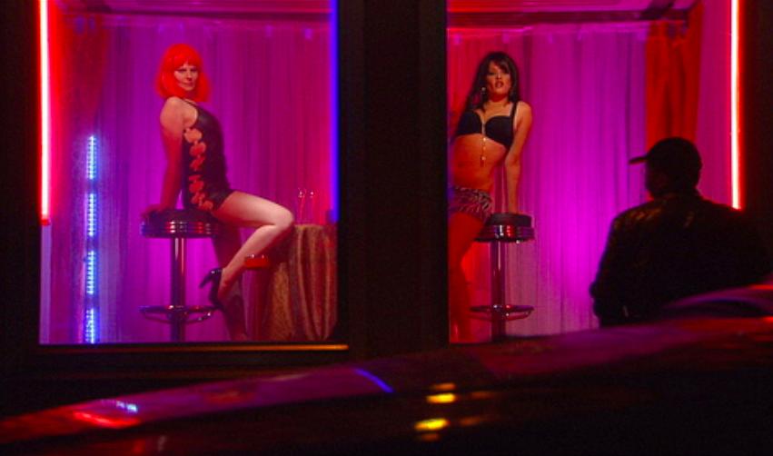 Prostituée en vitrine anvers