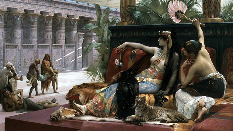 Cléopâtre reine Égypte