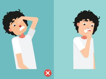 wrong and right for first aid for nasal bleeding