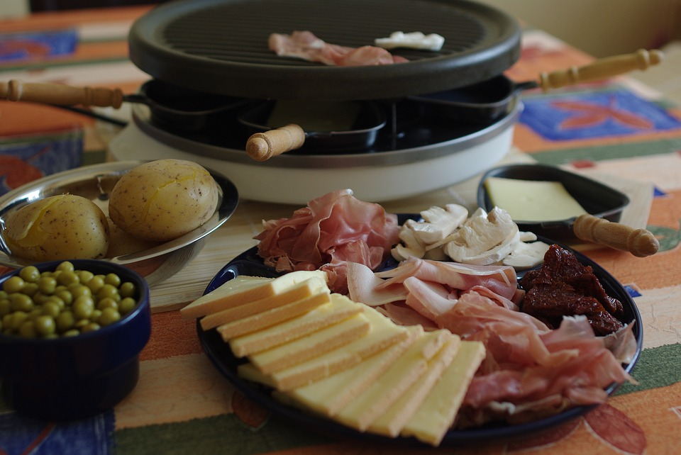 raclette fromage nourriture