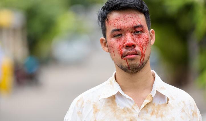 sang visage