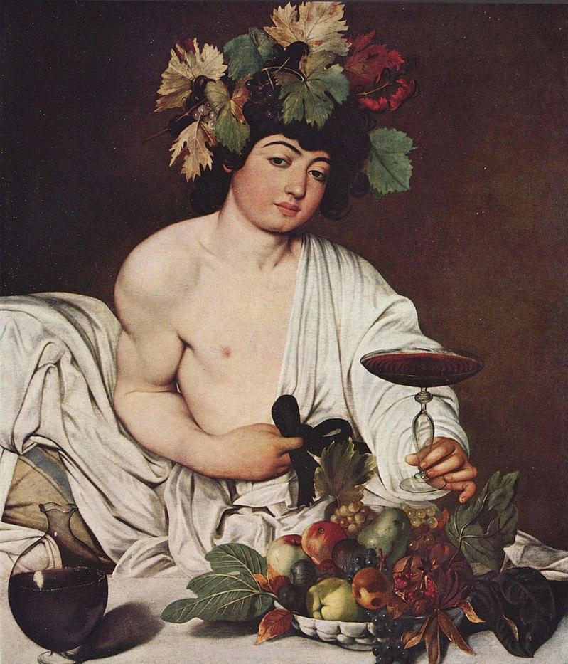 Bacchus dieu vin alcool