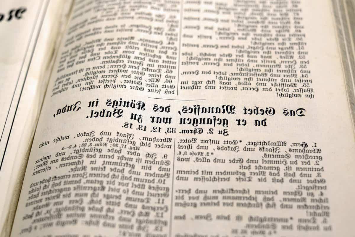 plus long mot du monde texte biblique