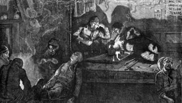 fumerie d opium laudanum