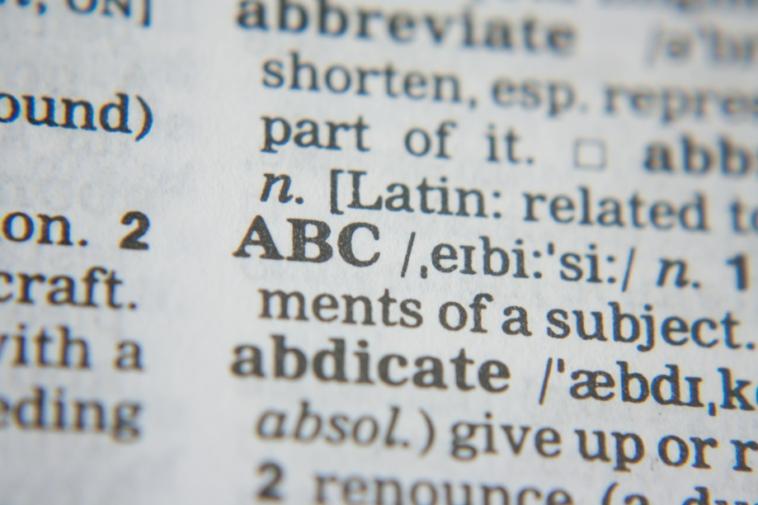 mot dictionnaire définition