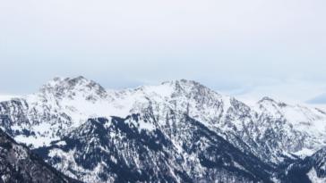 neige montagne hiver plus froid en altitude
