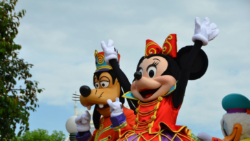 personnages disney minnie dingo