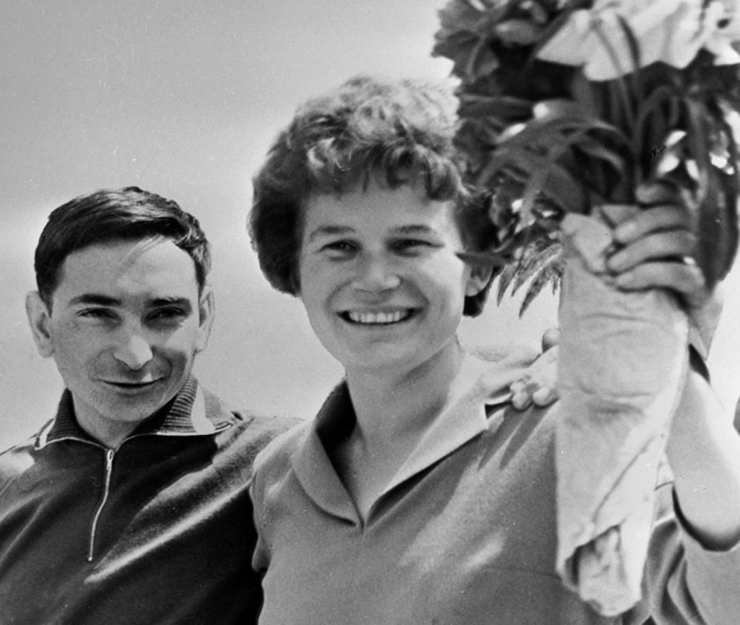 Valentina Terechkova la premiere femme a etre alle dans l espace