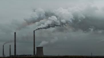 pollution de l'air usine environnement