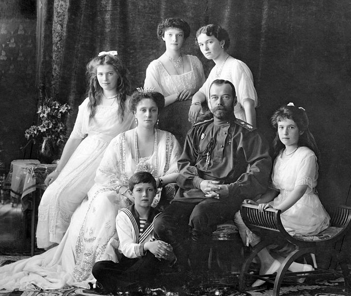 famille impériale russe tsar