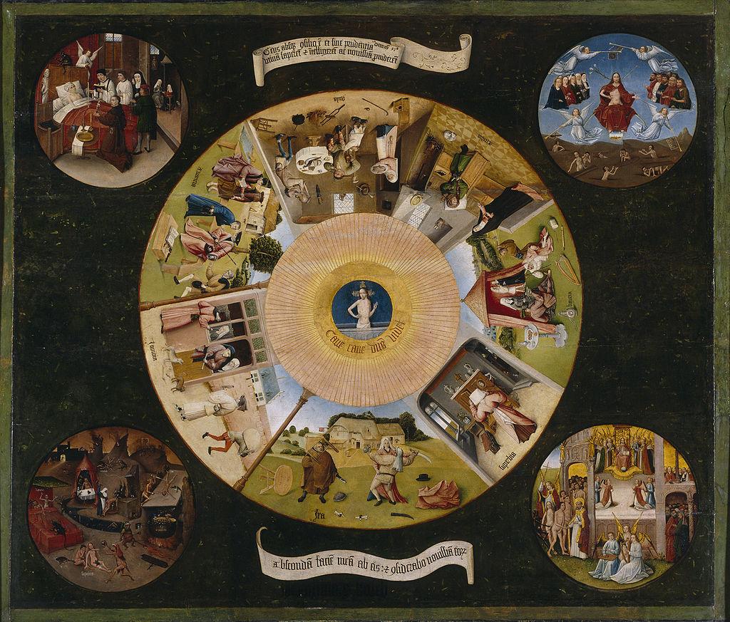 7 péchés capitaux Bosch