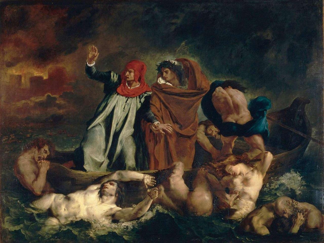 Enfer Dante Delacroix