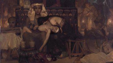 mort premier né plaie Égypte