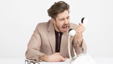 raisons qui énèrvent lors d'appel service client