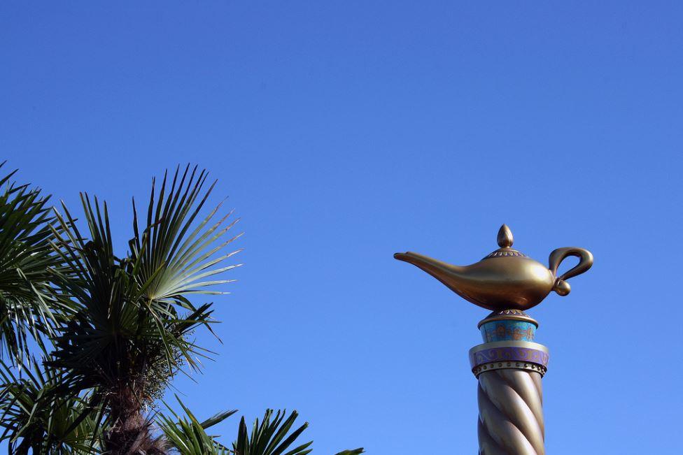 Aladdin lampe magique Disney