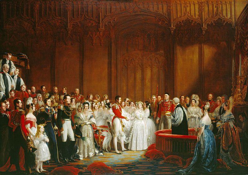 reine Victoria Albert mariage