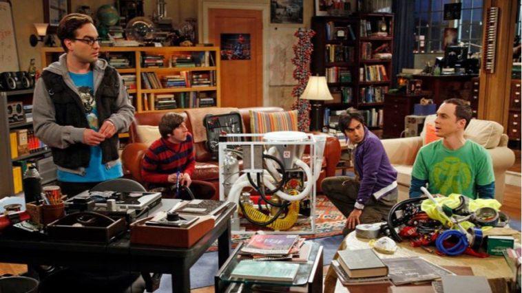 rires sitcoms big bang theory