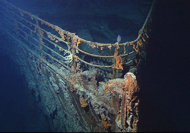 Titanic naufrage épave