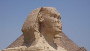 pourquoi sphinx gizeh nez casse