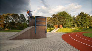 pratique du skateboard