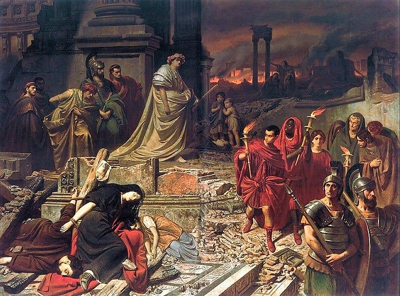 Néron incendie Rome
