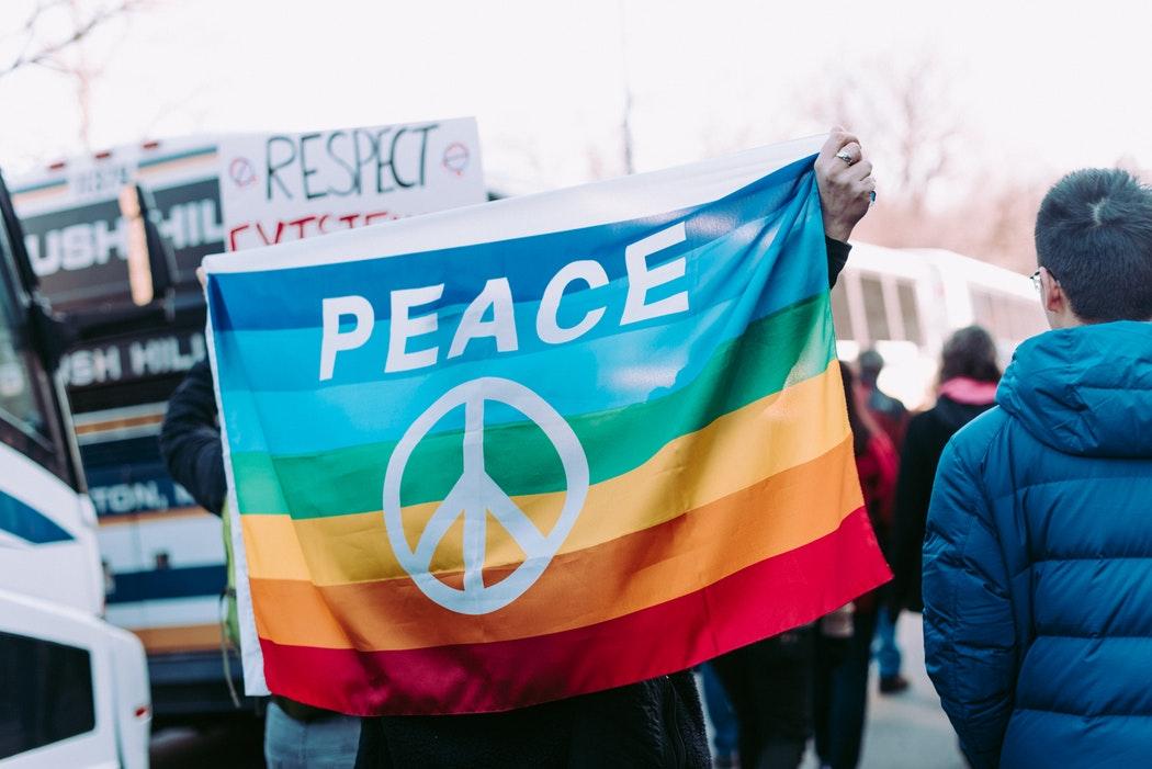 drapeau peace