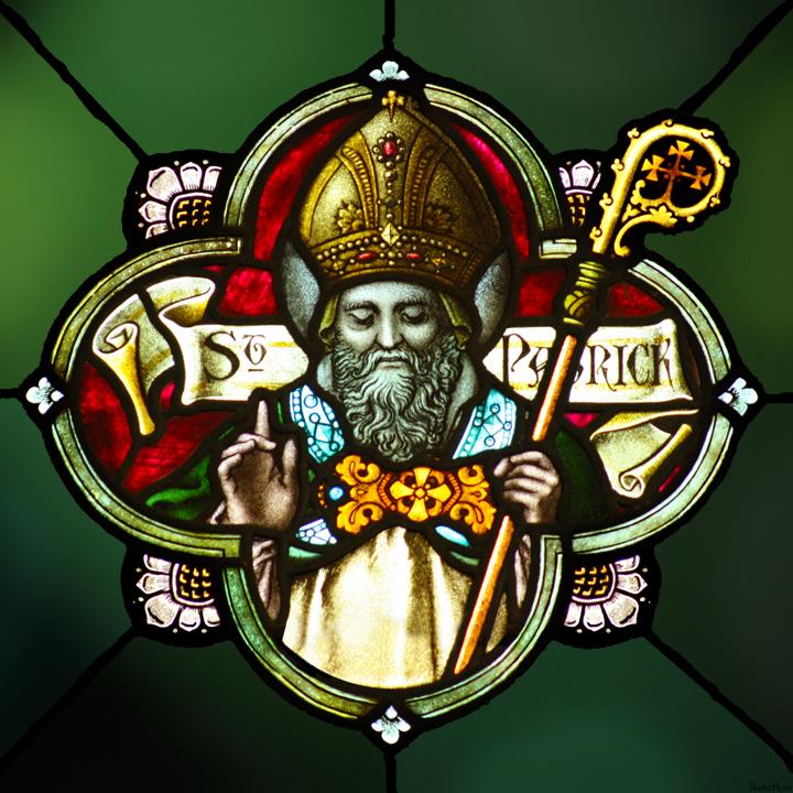 saint patrick serpents irlande