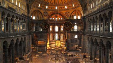 sainte sophie Istanbul runes