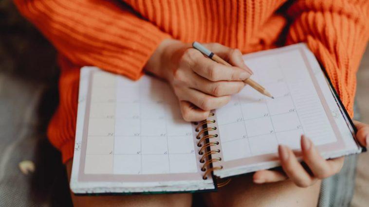 agenda temps jour semaine