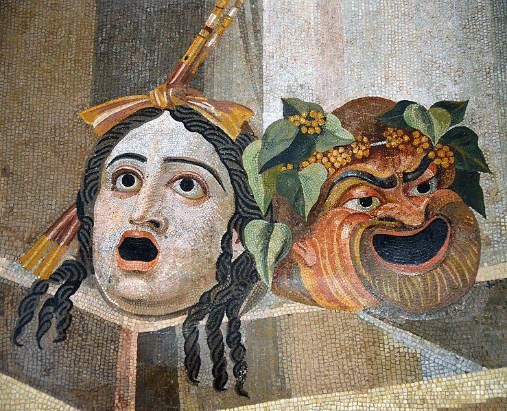masques théâtre tragédie comédie