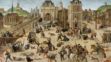 massacre saint barthélémy