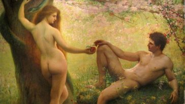 Adam Eve pomme