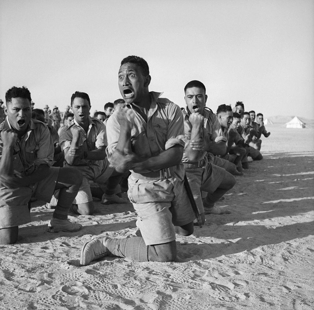 Haka bataillon maori