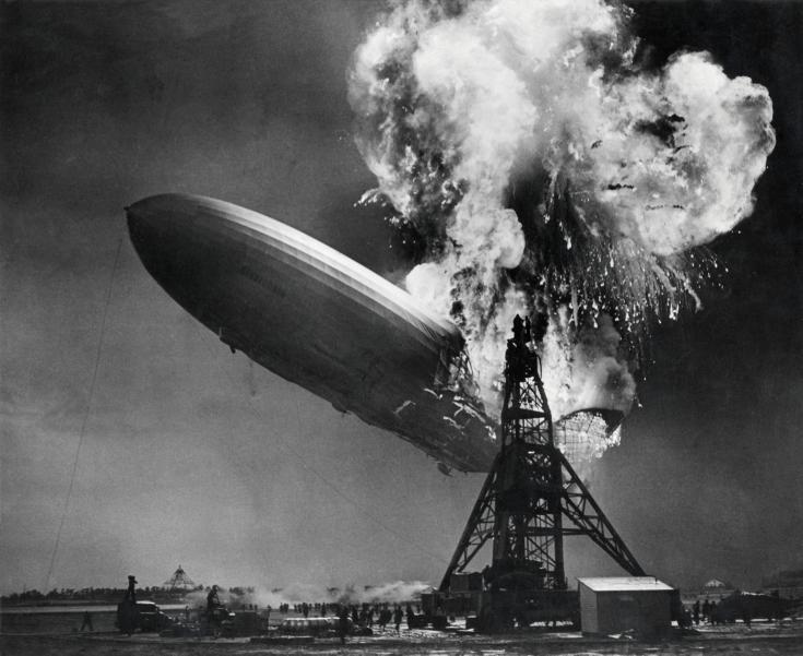 catastrophe du Hindenburg photo