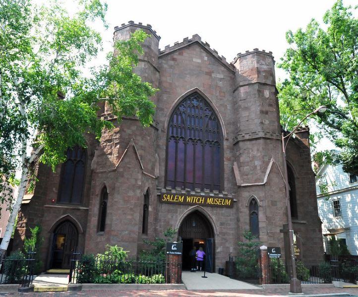 musée sorcières Salem