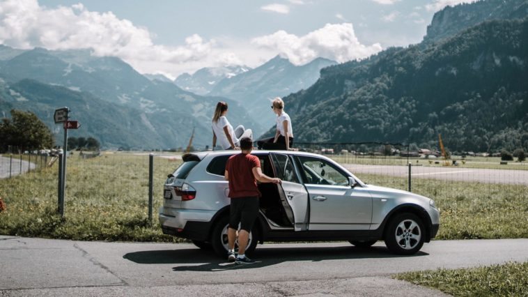 conduire voiture voyage