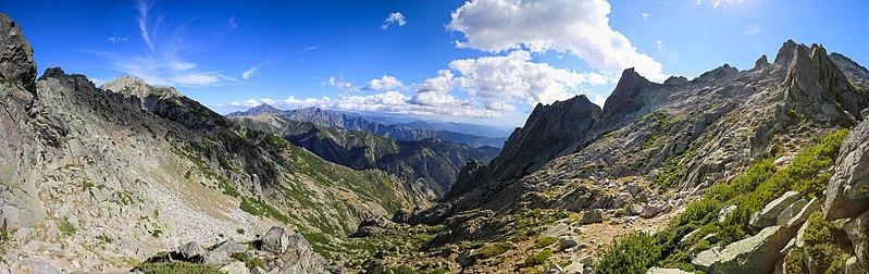 GR20 Corse randonnée