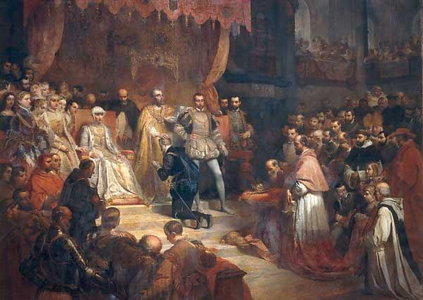 abdication Charles Quint