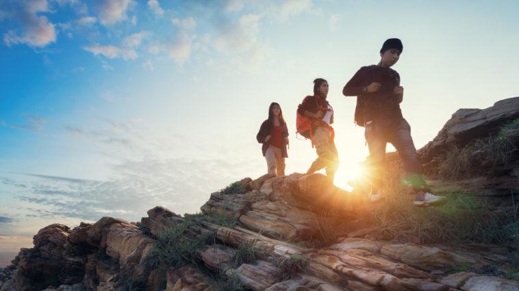 randonnée marcher montagne