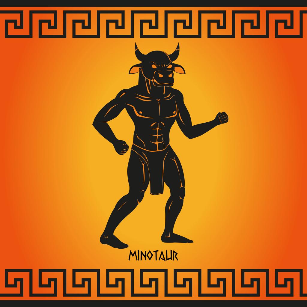 créature minotaure mythologie grecque
