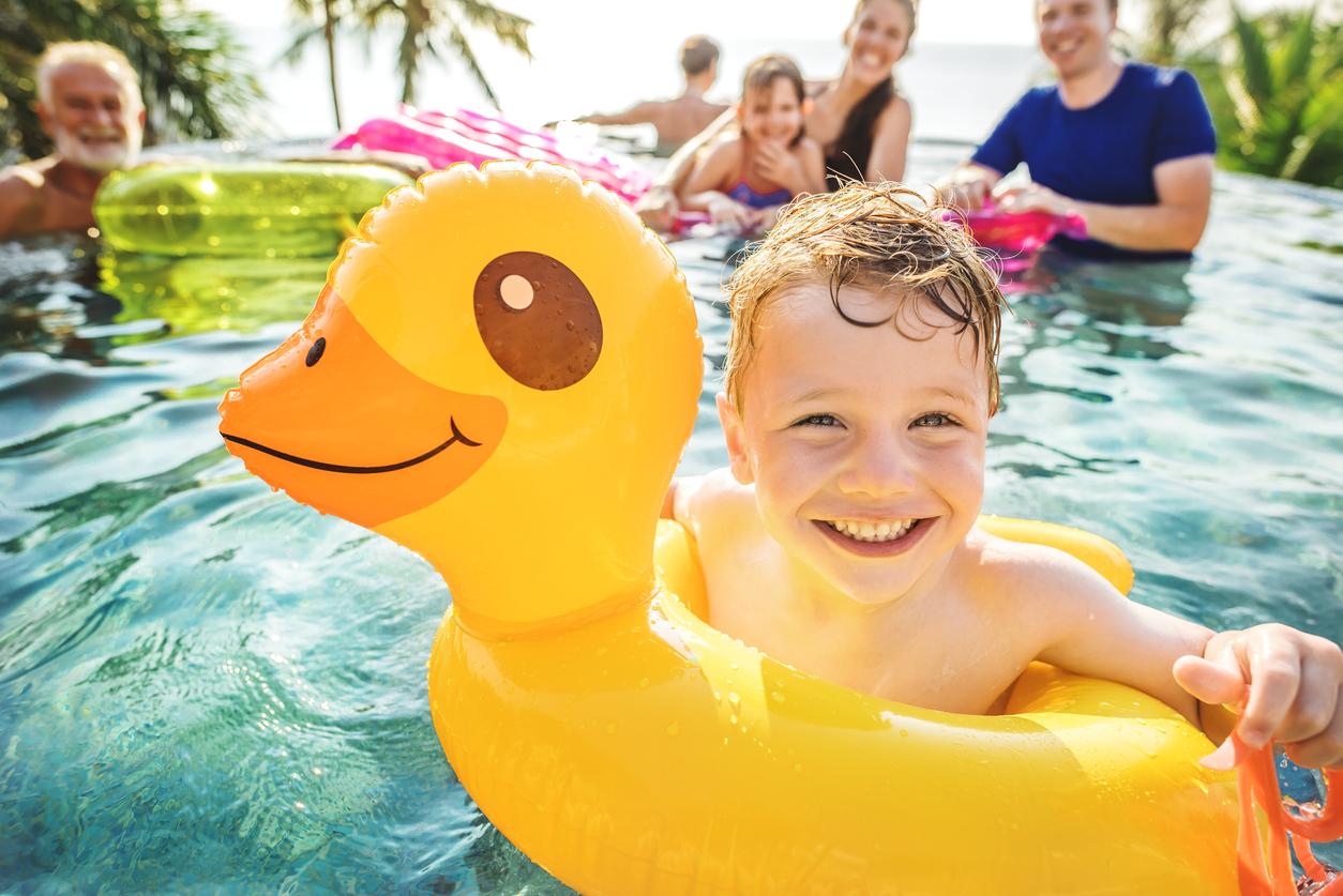 piscine vacances famille